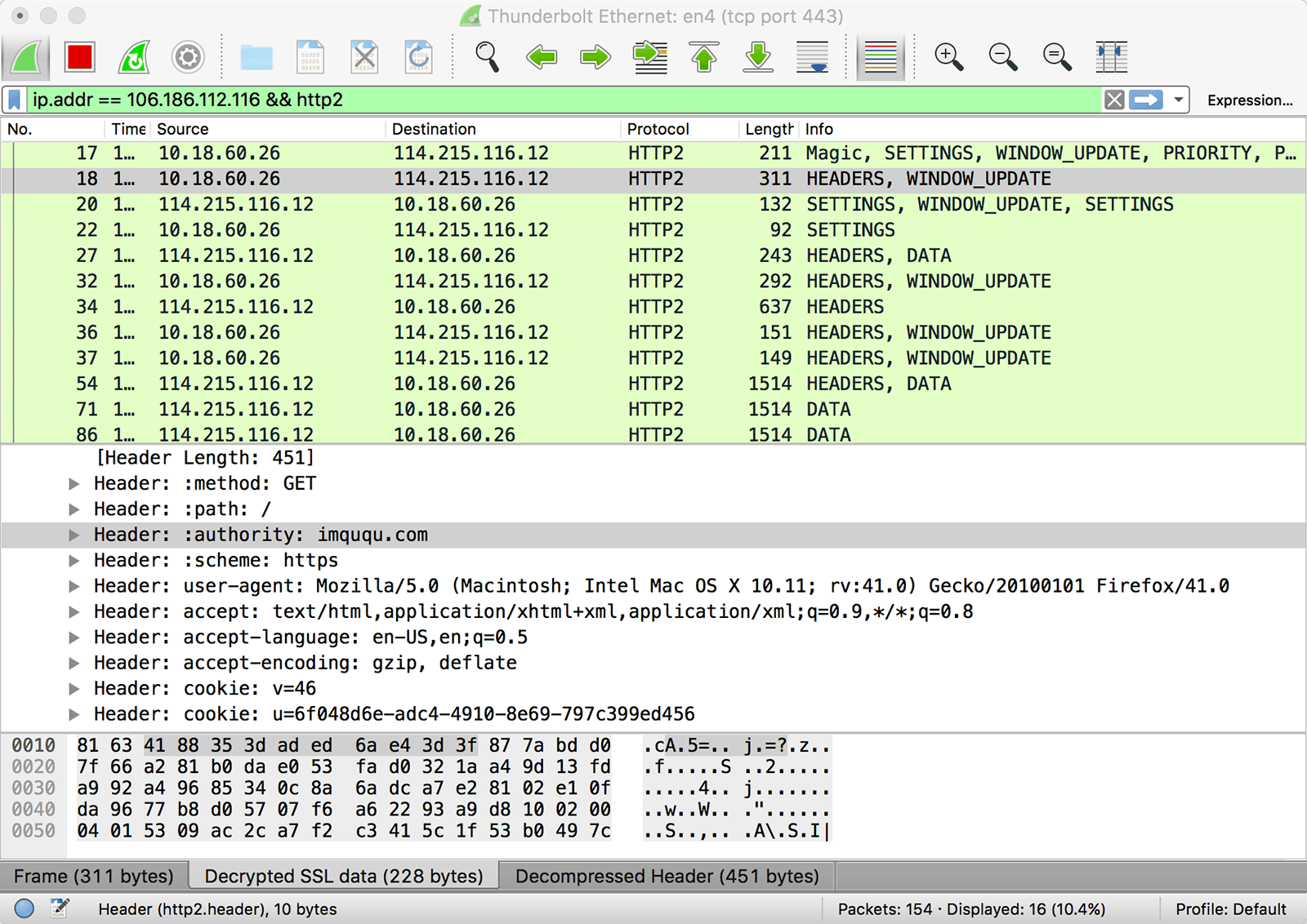 wireshark-http2