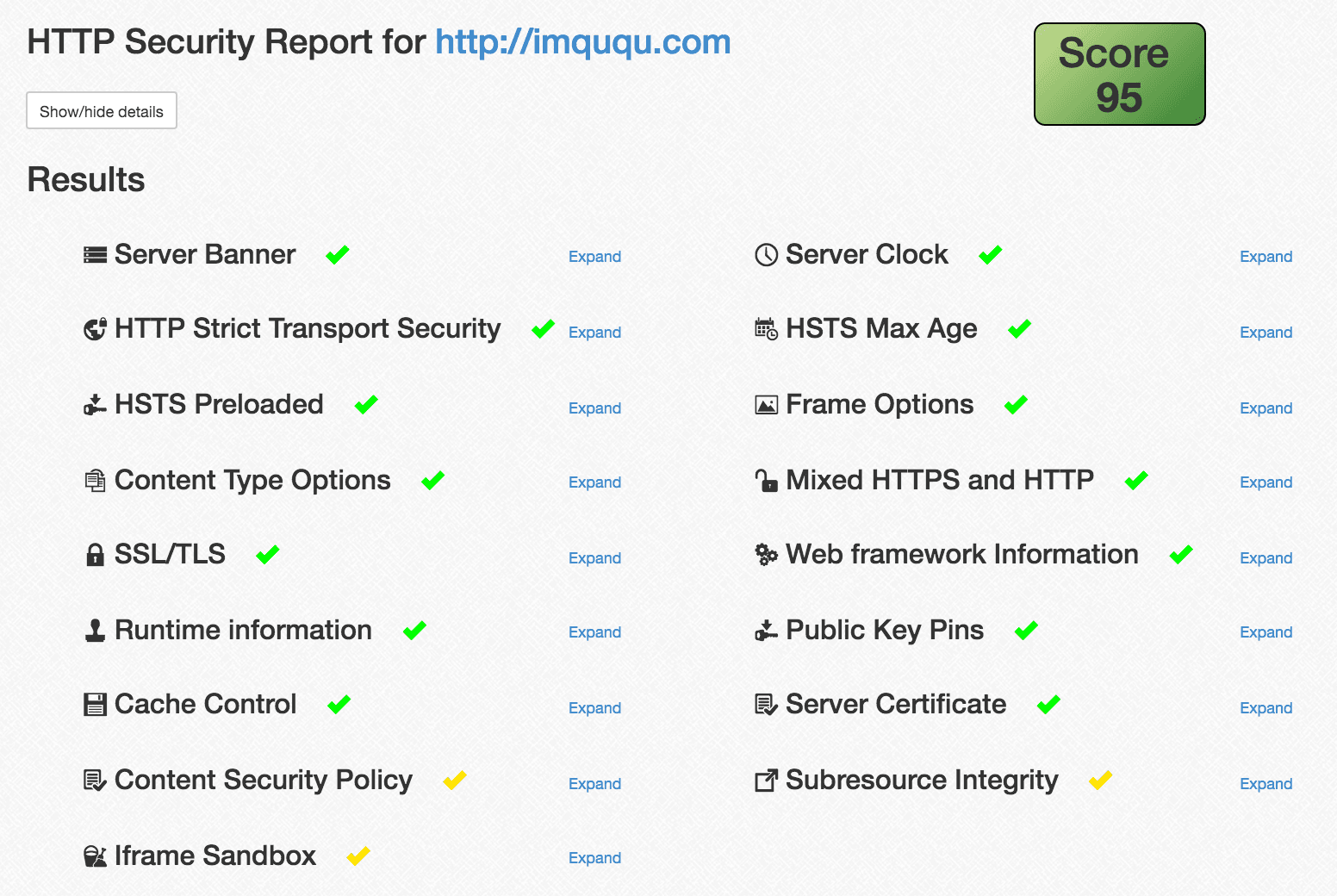 http security report of imququ.com