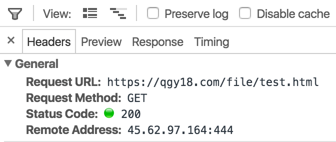 http alt server in chrome